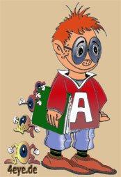 Anton, das 4eye.de Maskottchen